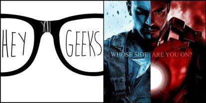Hey You Geeks #53: Underoos for the Win – A 'Civil War' Review