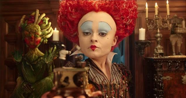 The Red Queen in Alice Through the Looking Glass