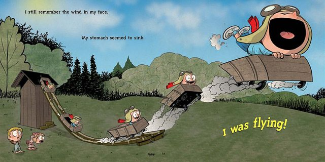 Art by Chris Eliopoulos ©Dial Books for Young Readers