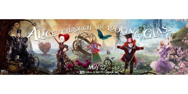 5 Reasons to Watch 'Alice Through the Looking Glass'