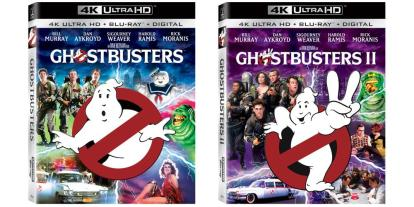 'Ghostbusters' and 'Ghostbusters II' Now Available in 4K UHD