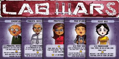 Kickstarter Alert: 'Lab Wars' Brings Science and Sabotage