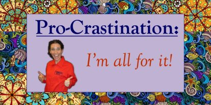 Procrastination Destination: Meditation