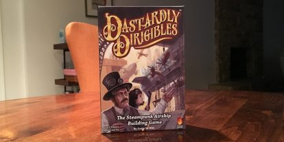 Build Steampunk Airships in 'Dastardly Dirigibles,' New from Fireside Games