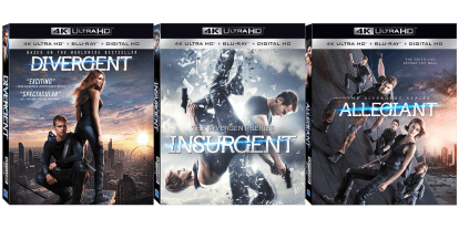Giveaway: 'Divergent' Series 4K UltraHD Bundle
