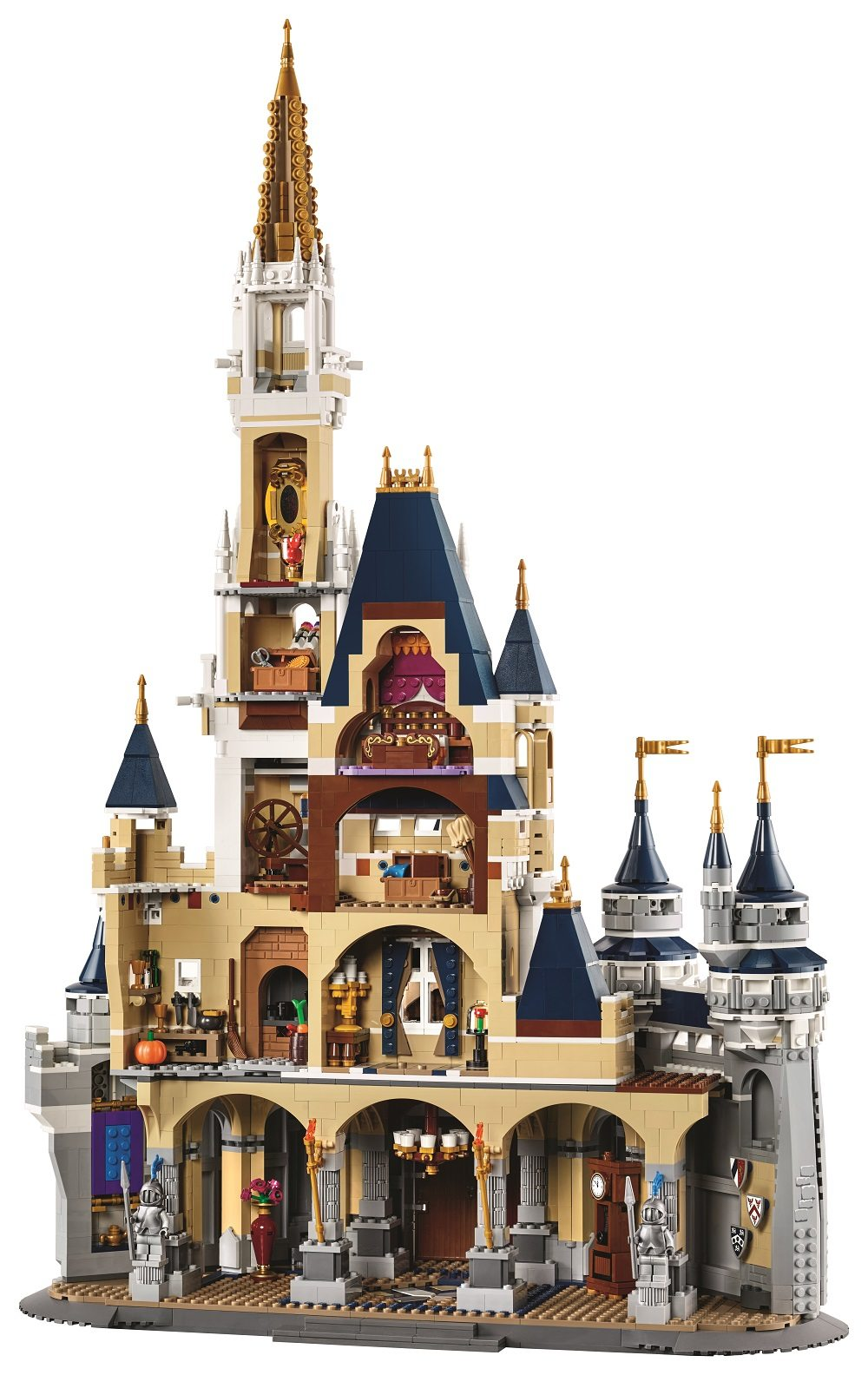 The Lego Disney Castle Real And Amazing Some Wishes