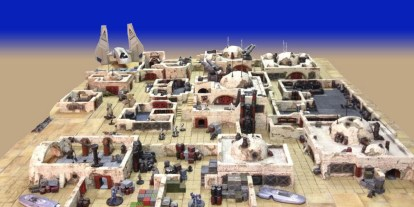 4bot Industries RPG Terrain Mold