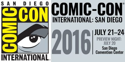 The Getting Excited for SDCC 2016 Post