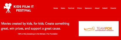 Kids Film It Festival — Contest for Kids!
