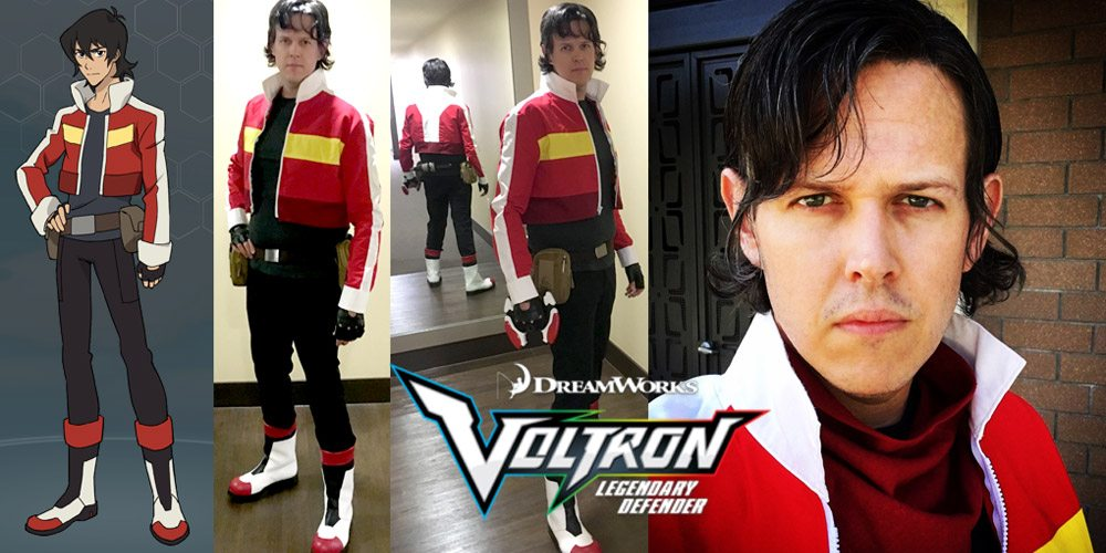 Completed Cosplay: Keith From 'Voltron: Legendary Defender ...