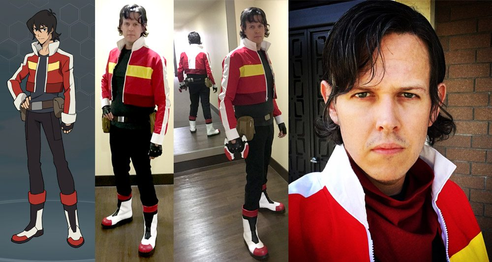 Completed Cosplay Keith From Voltron Legendary Defender