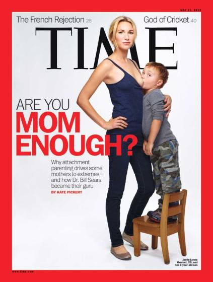 Martin Schoeller photographed four mothers who subscribe to attachment parenting for this week's cover of TIME.