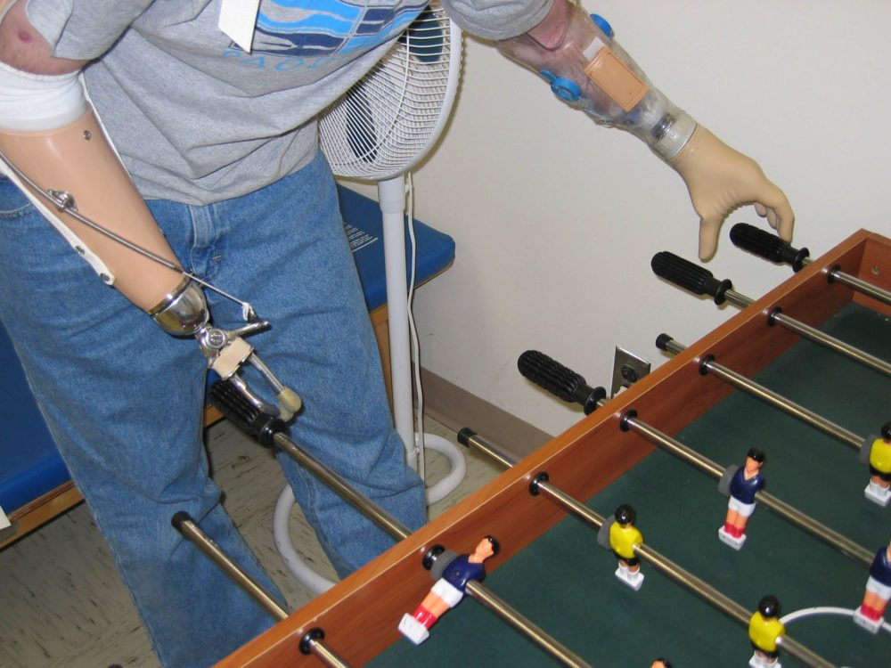 No, there is no foosball competition in the Games...yet. Photo: Wikipedia Commons