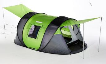 Kickstarter Alert: Cinch! Tents Keep You Cool, Power Your Devices