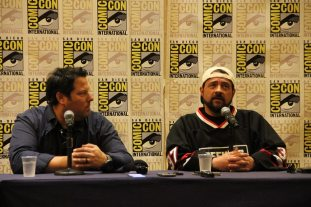 Kevin Smith and Greg Grunberg Are 'Geeking Out'