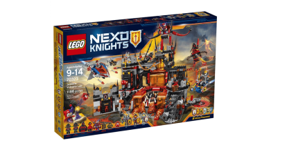 Get Ready for 'NEXO Knights' Season 2 With Jestro's Volcano Lair
