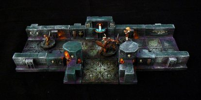 Dark Art Miniatures' Tombs of the Dark Sun RPG Terrain