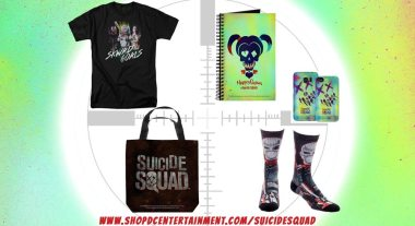 Win Exclusive Merchandise in 'Suicide Squad' Giveaway from Shop DC Entertainment