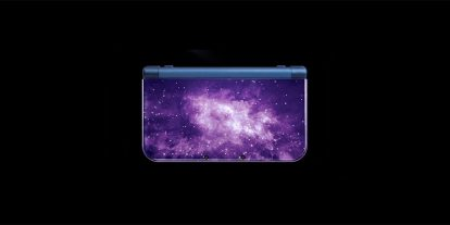 Galaxy Blue New Nintendo 3DS XL Looks out of This World