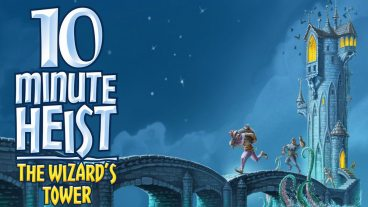 Kickstarter Tabletop Alert: '10 Minute Heist: The Wizard's Tower'