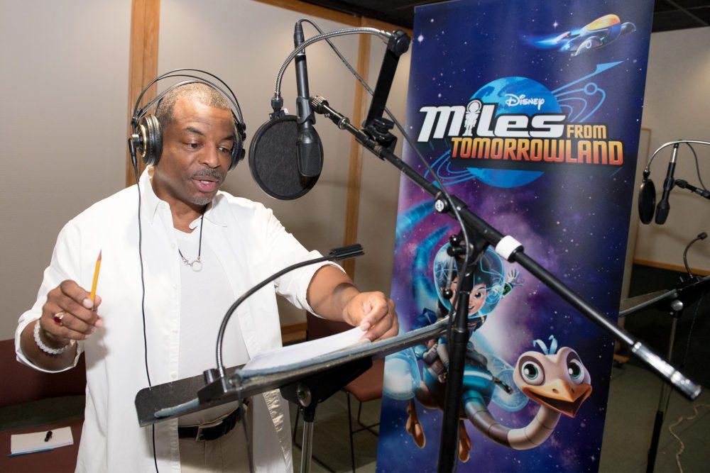 LeVar Burton Joins 'Miles From Tomorrowland'