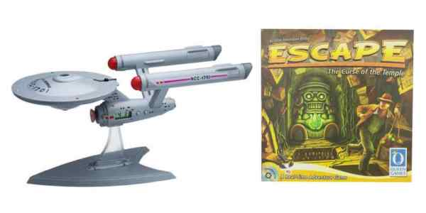 Big Deals on a 'Star Trek' Projection Alarm Clock and 'Escape the Curse of the Temple' Family Game