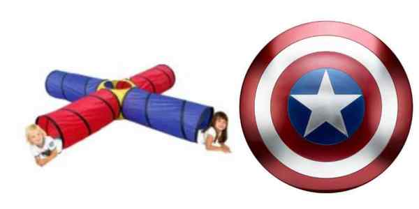Big Deals on a Pop-Up Play Tunnel, and the Marvel Legends Captain America's Shield – Daily Deals
