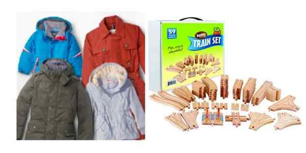 Big Deals on Outerwear for the Fall, Save Big on Wooden Train Sets – Daily Deals
