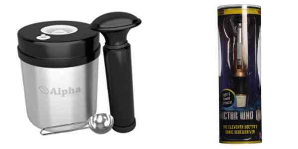 Save Big on a Vacuum-Sealed Coffee Canister or the 11th Doctor's Sonic Screwdriver – Daily Deals!