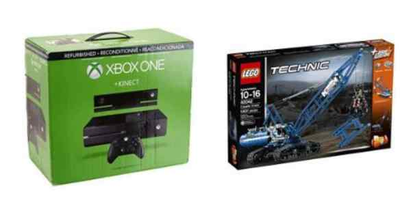 Save Big on XBox One (Refurb) and the LEGO Technic Crawler Crane – Daily Deals