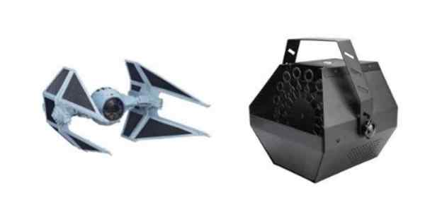 Big Deals on a ROTJ Tie Interceptor or a Bubble Machine for Halloween – Daily Deals!