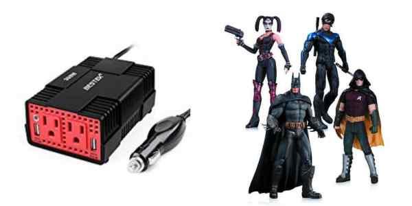 Add Power/USB Outlets to an Older Car, Get 'Batman: Arkham City' Action Figures – Daily Deals!