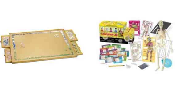 Save Big on a Tabletop Game/Puzzle Saver, 'Magic School Bus' Anatomy Learning Kit – Daily Deals!