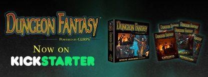 Kickstarter Alert: 'Dungeon Fantasy' RPG, Powered by 'GURPS'