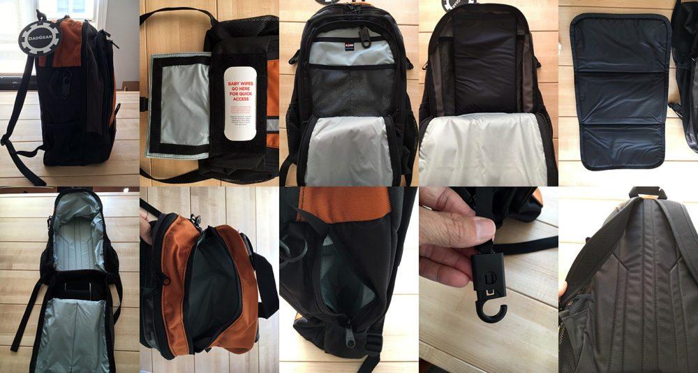 dadgear modern diaper backpack geekdad. Black Bedroom Furniture Sets. Home Design Ideas