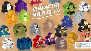 Kickstarter Tabletop Alert: Meeple Source Custom Bits