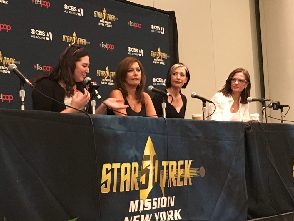 Women of Trek: Marina Sirtis, Nana Visitor and Terry Ferrell