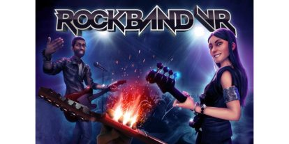 Hands-On With 'Rock Band VR' at PAX West