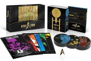 'Star Trek' 50th Anniversary TV and Movie Blu-ray Collection Now Available!