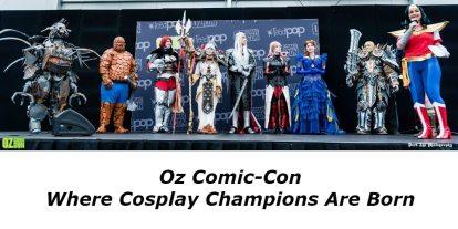 Oz Comic-Con: Where Cosplay Champions Are Born