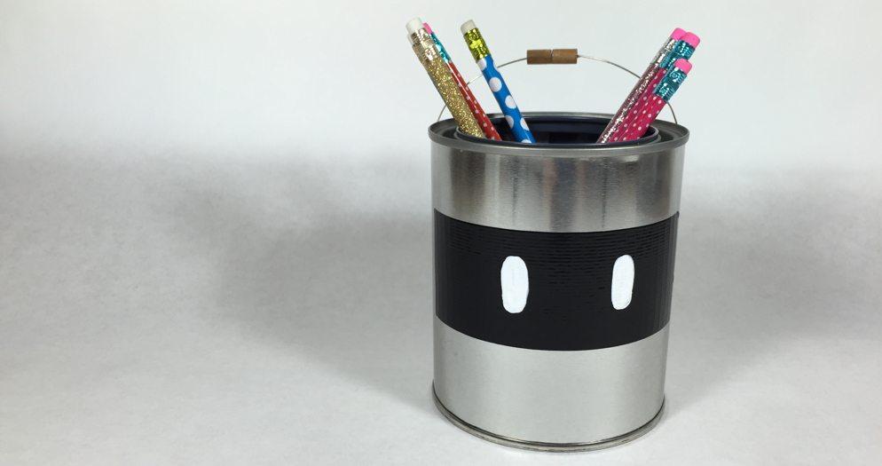 Huey Pencil Tin