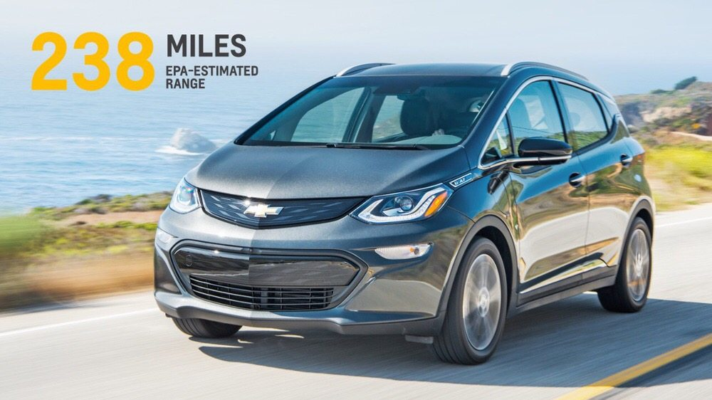 Sorry, Tesla: Chevy Bolt officially goes 238 miles on a single charge