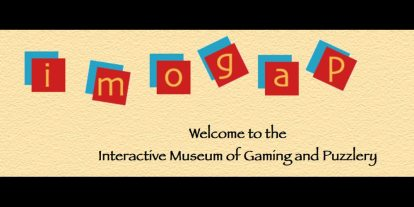 Help Save the Interactive Museum of Gaming and Puzzlery!