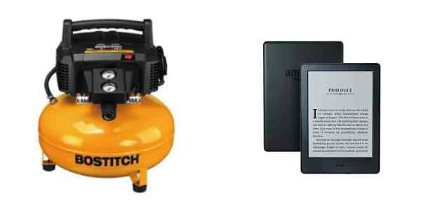 Save Big on a Bostitch Compressor, Get Pre-Owned Kindle E-Readers for Cheap – Daily Deals!