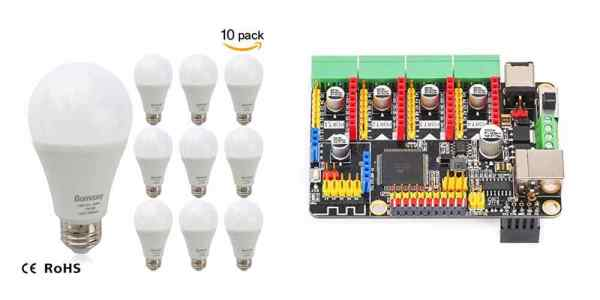 Save Big on LED Bulbs, Get the MakeBlock Motion Control Board For Your Electronics Projects