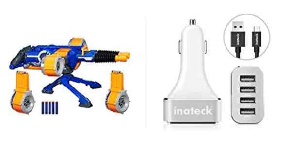 Save Big on a Big Nerf Blaster, Charge Everyone in the Car for Cheap – Daily Deals!
