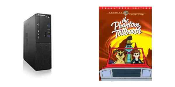 """Save Big: $350 for a Lenovo Desktop Computer, Animated 'The Phantom Tollbooth"""" – Daily Deals!"""