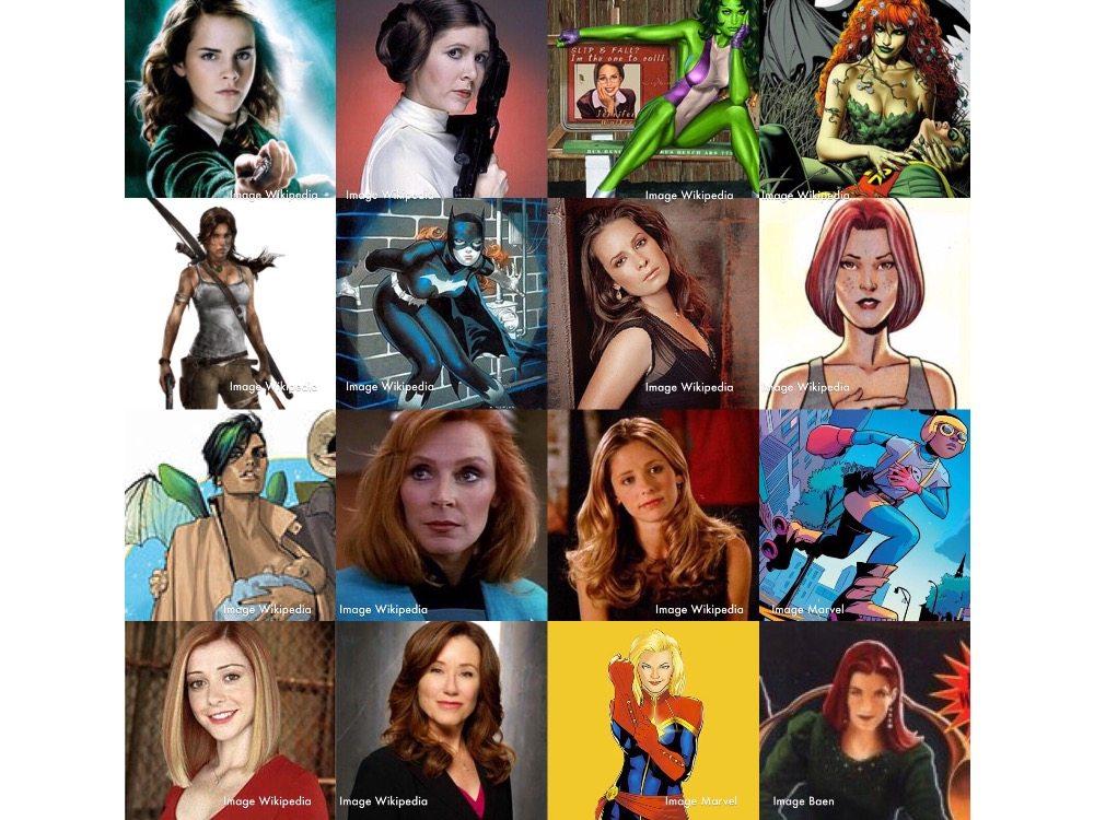 President Hermione – Secretary Buffy: Female Fantasy Cabinet