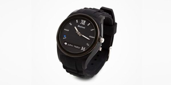 GeekDad Daily Deal: The Martian Notifier Smartwatch
