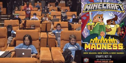 Super League Gaming Brings 'Minecraft Metropolis Madness' to Select Theaters Oct. 19th